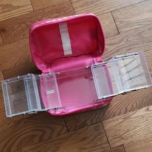 MAKE-up organizer with removable insert.
